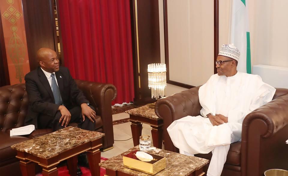 Buhari-Bostswana Ambassador1