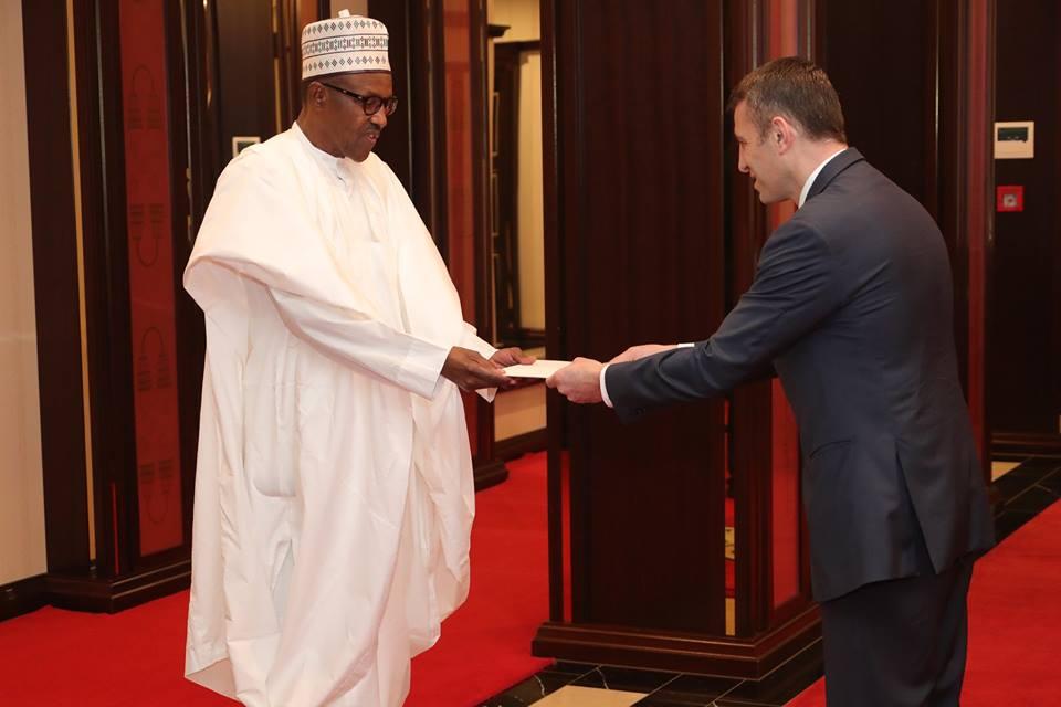 Buhari-Dutch Ambassador