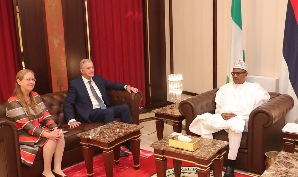 Buhari-Dutch Ambassaor
